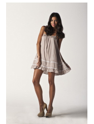 stone charcoal - lacey love dress