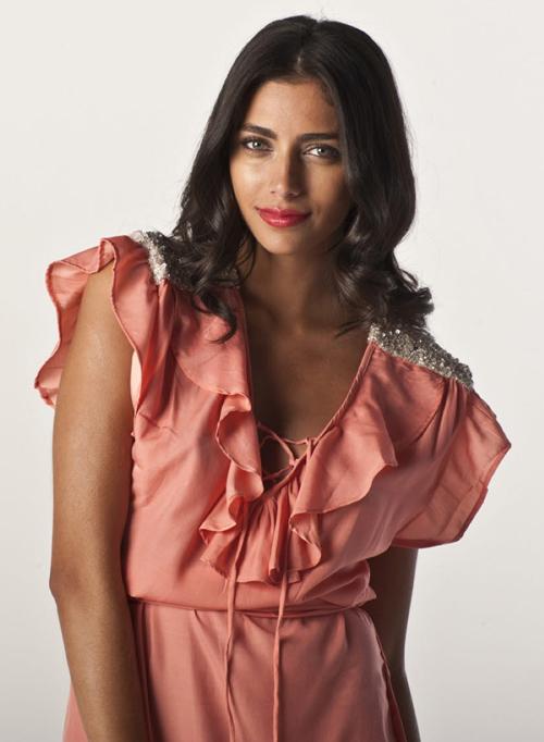peachy peach - lulu dress
