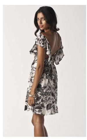 oriental black - pixie dress