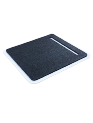 Mousepad with white base