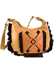 Apache Bag - Chocolate Suede