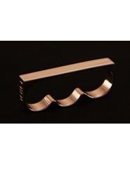 ATAT - Silver 3 Finger Ring