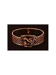 ATAT - Gold checkered Lion Bangle