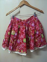 Valentina reversible mini skirt
