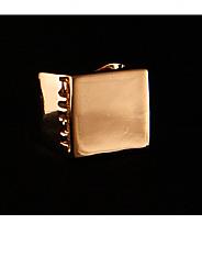 ATAT - Gold Square Ring