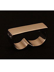 ATAT - Plan Silver 2 Finger Ring